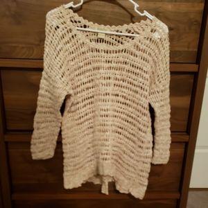 Lucky Brand Crocheted Sweater